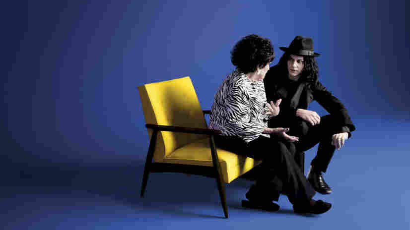 Wanda Jackson teamed with Jack White for her latest album, The Party Ain't Over.