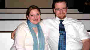 Courtney Strain, shown with her husband, Brock, died of brain cancer in June 2010 at the age of 25. In the months before she died, she said she sometimes felt like an outcast. People didn't know what to say to her, so they said nothing at all.