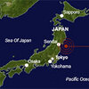 The magnitude 8.9 earthquake was centered about 80 miles east of Sendai.