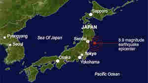 Earthquake Rattles Japan's Eastern Coast