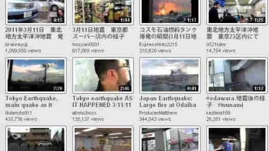 YouTube Videos Tell The Earthquake, Tsunami Story