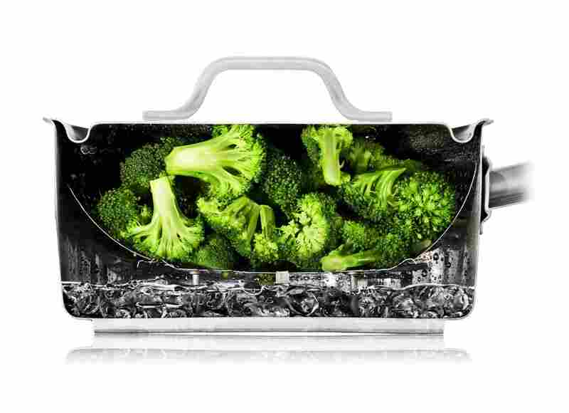 The Cutaway Photos U2014 Like This One Of Broccoli Steaming U2014 Are All Real. The