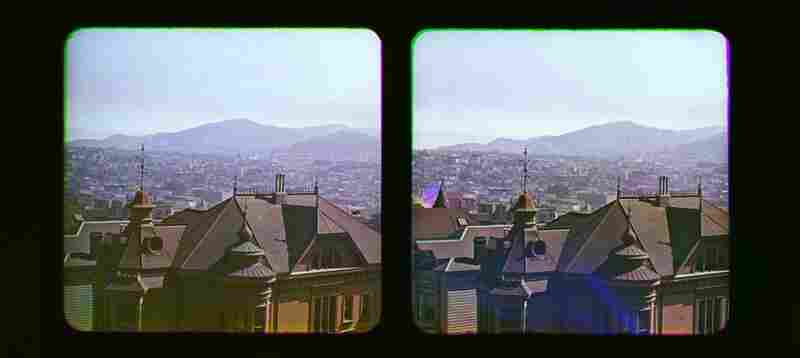 The Ives collection contains 250 Kromograms in addition to other materials. According to the Smithsonian, these may be the first color photographs of San Francisco, and are certainly among the first true color stereo photographs.