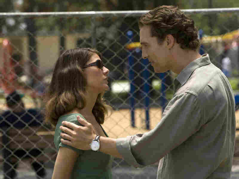 As danger dogs his heels, Mick turns for help (and comfort) to his ex-wife, Maggie (Marisa Tomei).