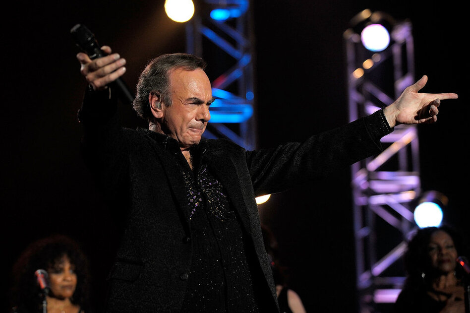 Continuing to tour, record albums and appear on television, Neil Diamond remains a staple of contemporary pop music.  (Getty Images)