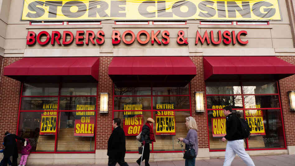 Borders, the second largest U.S. bookstore chain, filed for bankruptcy last month and plans to close around 30 percent of its domestic stores.