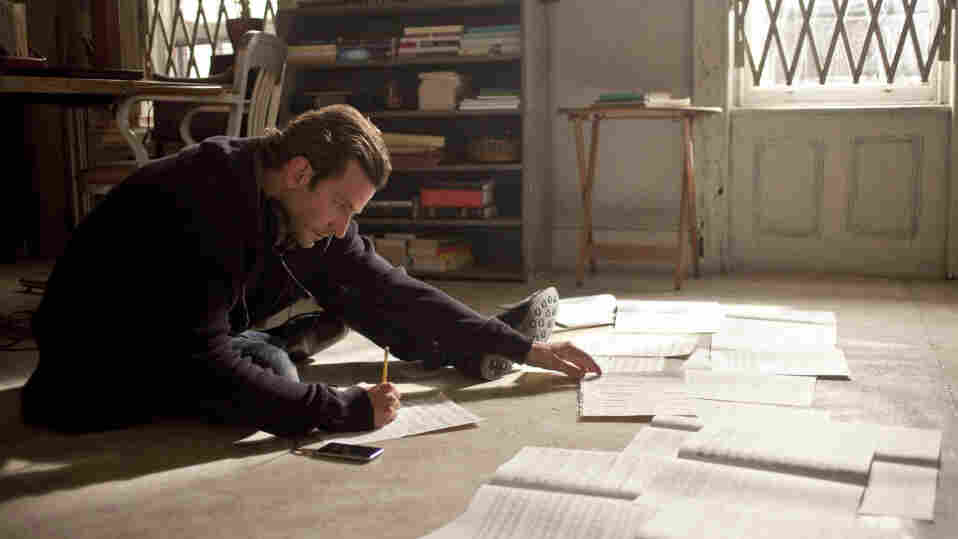 """Subito Accelerando: After taking an experimental """"smart drug,"""" Eddie Morra (Bradley Cooper) becomes a bona-fide genius, able to finish a long-stalled novel, learn new languages — even compose music."""