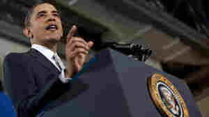 President Obama, shown delivering a speech in Virginia on Monday, promised two years ago to improve government transparency. A new study finds that so far, the administration has a mixed record.