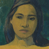 """By the time Gauguin arrived in the late 1800s, Tahiti had been """"thoroughly Christianized and colonized"""" by the French, says National Gallery curator Mary Morton. Women didn't walk around half-nude — but Gauguin painted them that way anyway. Above, an 1899 depiction of Two Tahitian Women."""