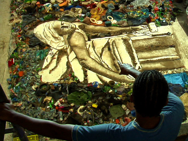 <strong> Trash or Treasure: </strong>In this Oscar-nominated documentary, Vic Muniz encourages Brazilian catadores, who sort recyclable materials in a massive landfill outside of Rio de Janeiro, to recreate famous artworks.<em></em>