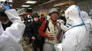 Japanese Flee Area Near Nuclear Power Plant