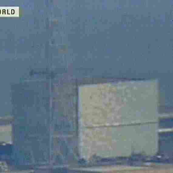 The No. 2 reactor at the Fukushima Daiichi nuclear power plant, as seen in screen grab. What will happen to the workers left behind to battle radiation leakage?