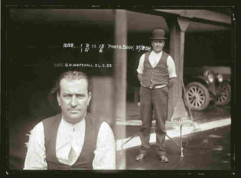 George Whitehall a carpenter, handed himself into the police after murdering his common-law wife, Ida Parker on Feb. 21 1922 a