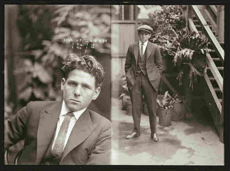 "When this photograph was taken in 1924, Alfred Fitch was a car thief. He appears later in the 1933 New South Wales Criminal, described as ""an unscrupulous criminal, who will lend his hand to any unlawful undertaking, irrespective of its nature, and invariably assaults, or endeavours to assault, police effecting his arrest."""