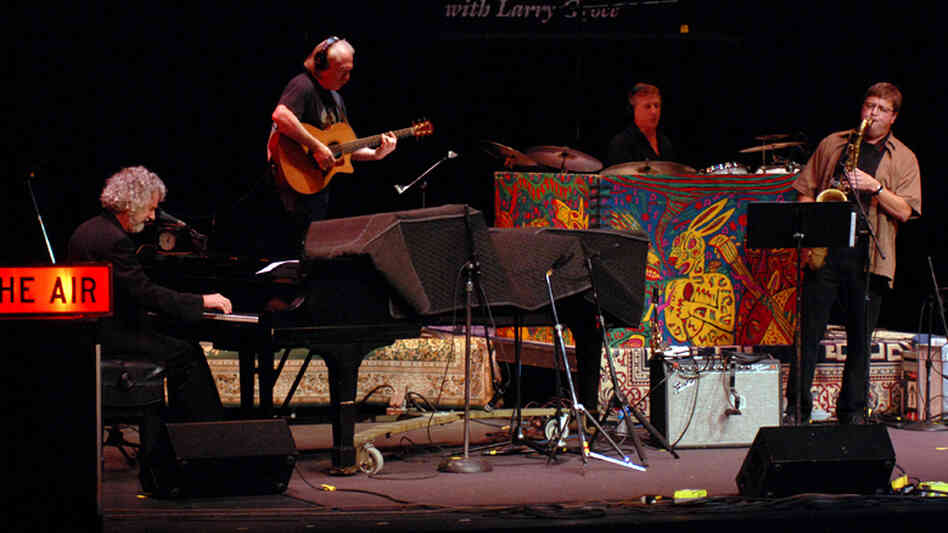 Chuck Leavell performed on Mountain Stage.