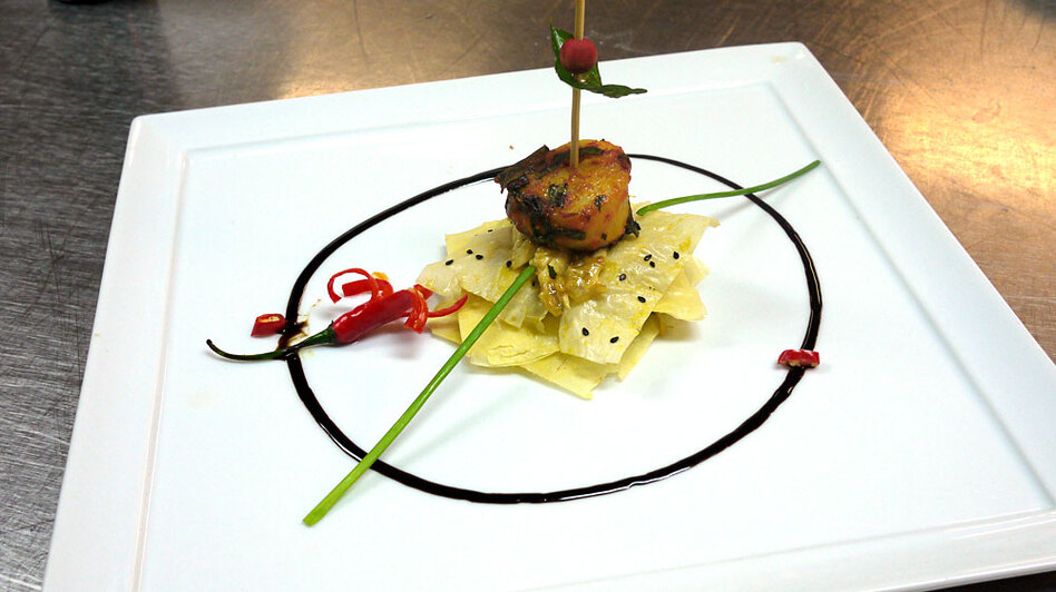 Oberoi 39 s kitchen the art of indian haute cuisine wbur news for Art of indian cuisine