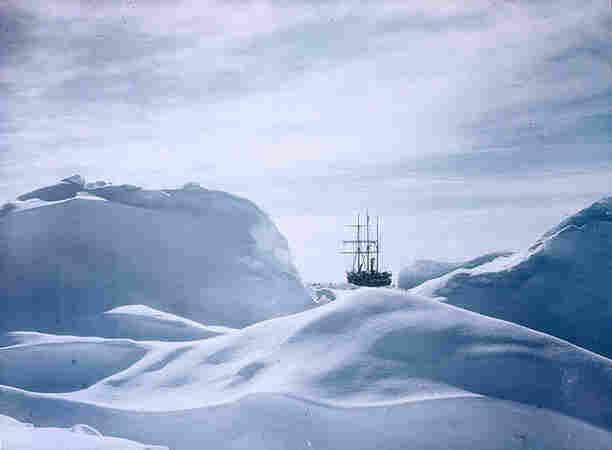 Photographer Frank Hurley captured the Endeavor's tragic Antarctic journey, in color.