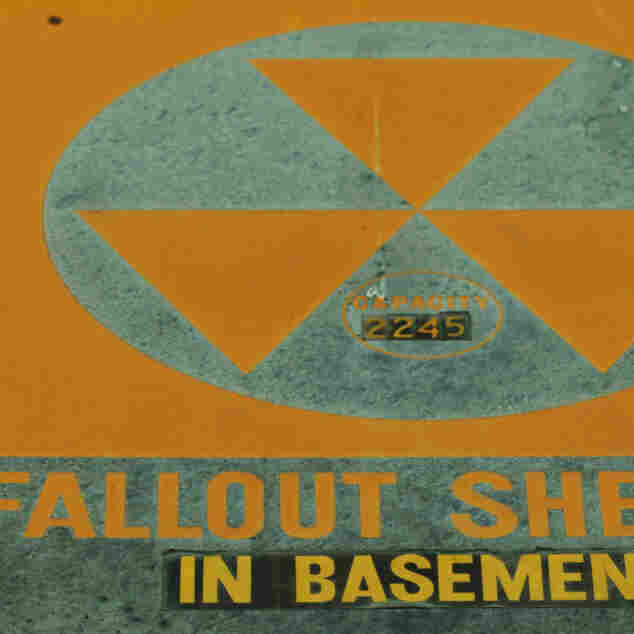 A fallout shelter sign graces the Madison County Courthouse in Huntsville, Ala., in 2007. The county is working on a plan to identify shelters that can house up to 300,000 people in the event of a nuclear incident.