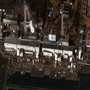 This satellite image of Japan showing damage after an Earthquake and Tsunami at the Daiichi nuclear power plant in Fukushima, Japan.