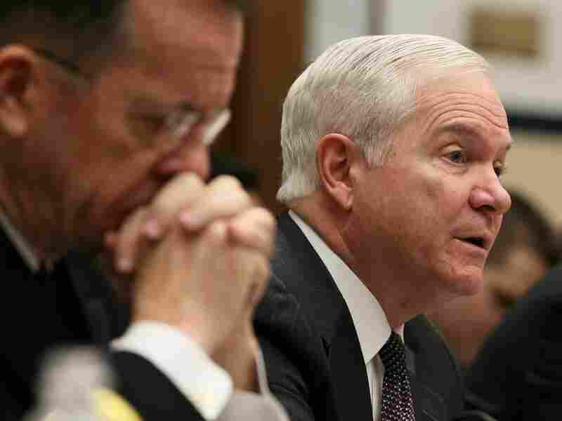 Defense Secretary Robert Gates, shown with Joint Chiefs of Staff Chairman Adm. Mike Mullen, testifies at a House Armed Services Committee hearing last month on the annual defense authorization budget request.
