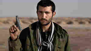 An anonymous portrait of a Libyan rebel warrior in the crossroad town of Ajdabiya in early March.