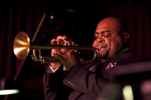 Terell Stafford, performing live at the Village Vanguard.