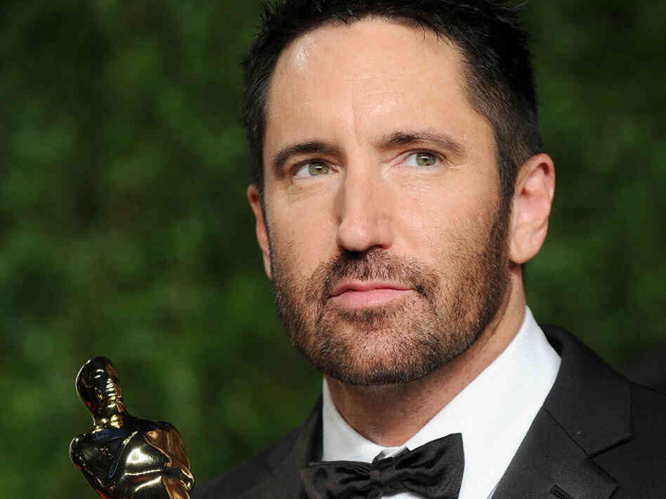 WEST HOLLYWOOD, CA - FEBRUARY 27:  Musician Trent Reznor arrives at the Vanity Fair Oscar party hosted by Graydon Carter held at Sunset Tower on February 27, 2011 in West Hollywood, California.