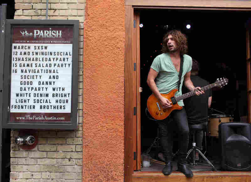 Musicians will play just about anywhere during SXSW.