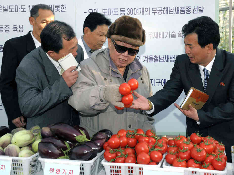 This undated photo released by North Korea's official Korean Central News Agency via