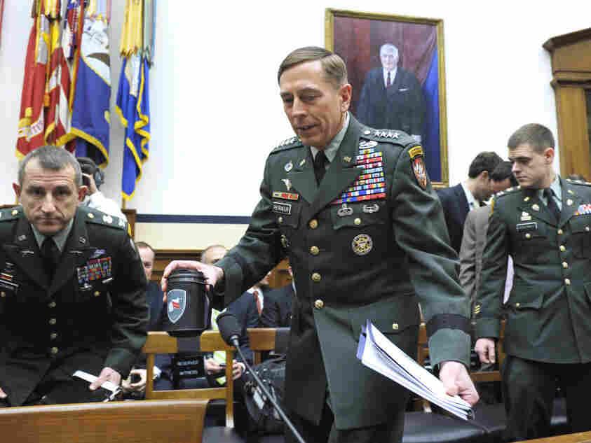 Gen. David Petraeus on Capitol Hill, Wednesday, March 16, 2011.