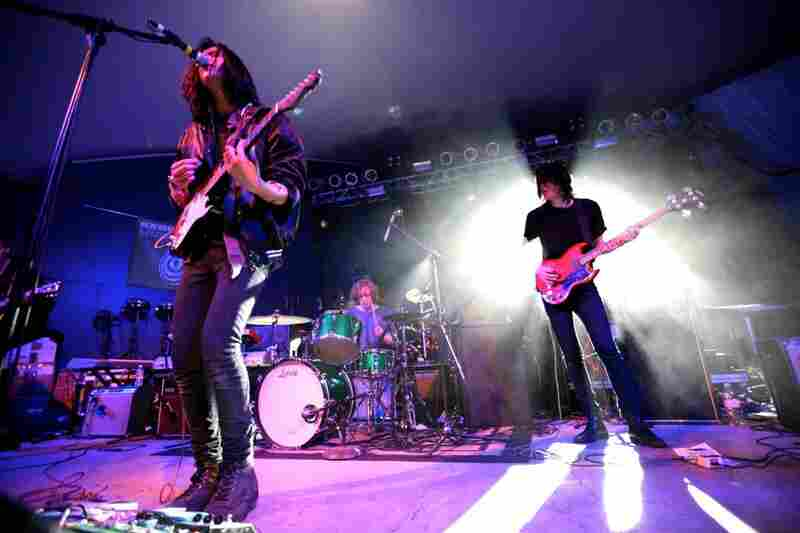 "Smith Westerns' newer songs like ""Tonight"" and ""Weekend"" felt exceptionally sturdy at Stubb's, built on a foundation that conjures images of both Replacements-style rock and girl-group pop."
