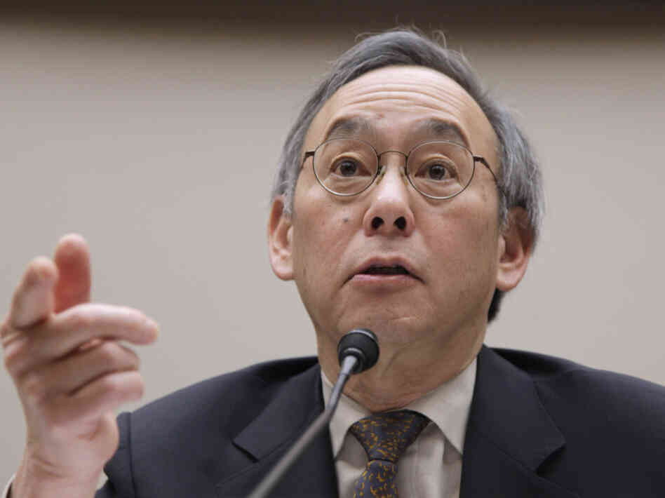Energy Secretary Steven Chu on Capitol Hill, March 16, 2011.