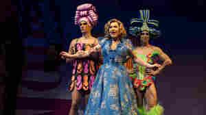 Will Swenson, Tony Sheldon and Nick Adams in Priscilla Queen of the Desert