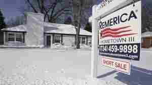 A foreclosed house for sale in the Detroit suburb of Southfield, Mich.