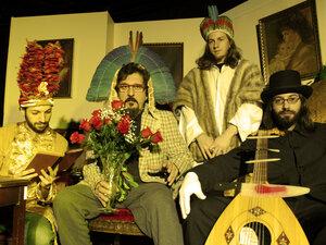The Banquet of Spirits (from left to right): Brian Marsella, Cyro Baptista, Tim Keiper, Shanir Ezra Blumenkranz.