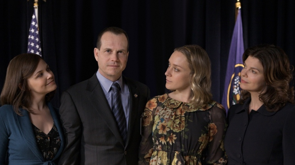 Big Love, the HBO drama starring Ginnifer Goodwin (left), Bill Paxton, Chloe Sevigny and Jeanne Tripplehorn, came to an end March 20 after five seasons. (HBO)