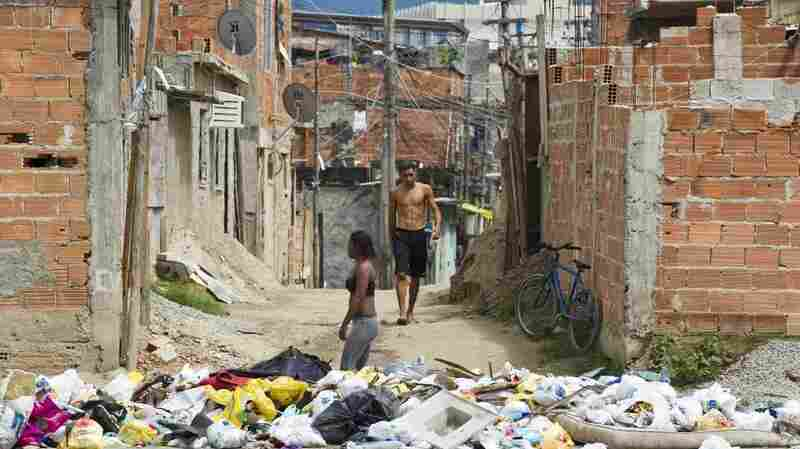 The City of God favela outside of Rio de Janeiro is notoriously dangerous, but, says drug counselor Carlos Jose Melo, it's getting better.