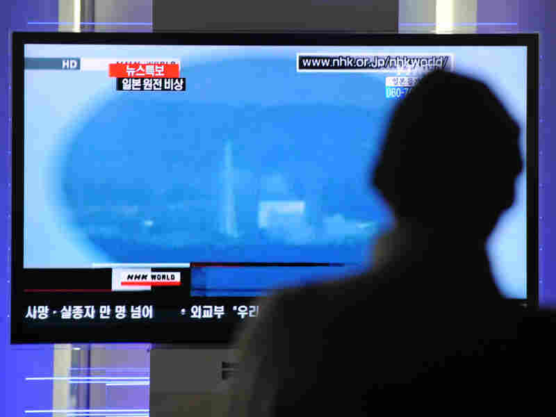 South Korean passengers walking past a TV reporting an explosion at Japan's Fukushima-Daiichi nuclear power plant. This week, Gen. Keith Alexander argued that future conflicts will most likely involve cyber warfare, causing some to worry about the cyber threat to U.S. nuclear facilities.