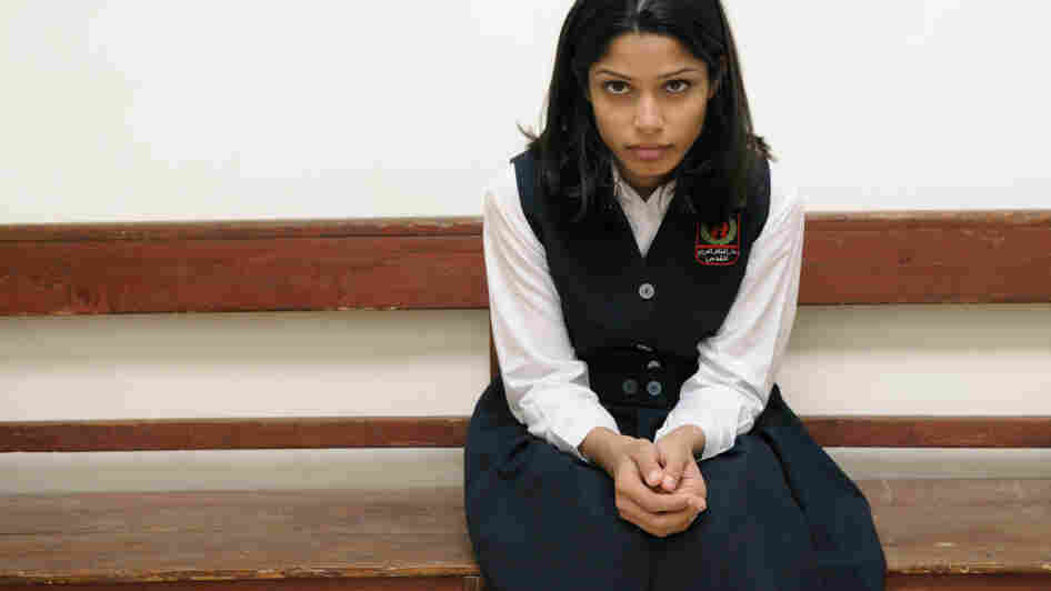 An orphaned Palestinian girl (Freida Pinto) is one of four women whose lives are a lens on the Middle East in Miral.