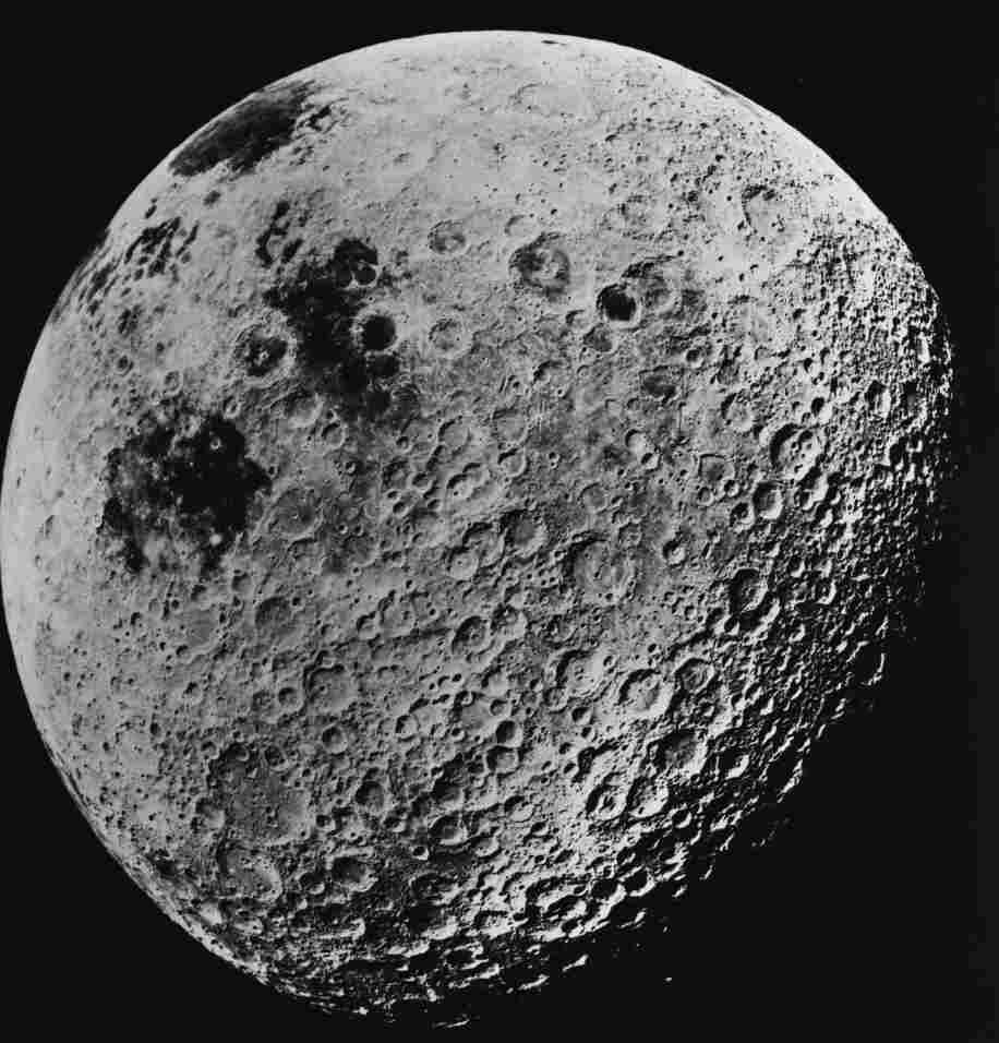 """It won't look this big, but it will be """"super."""" (File photo of the far side of the moon, taken by astronauts aboard the Apollo 16 mission, on July 10, 1972.)"""