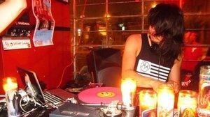 DJ Dave Nada performs at the Velvet Lounge in Washington, D.C.
