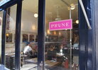 """When Hamilton first walked into the East Village storefront that is now her restaurant Prune, she knew it was perfect. """"I knew exactly what and how to cook in that kind of space ... and I knew immediately, even, what to call it,"""" she says."""