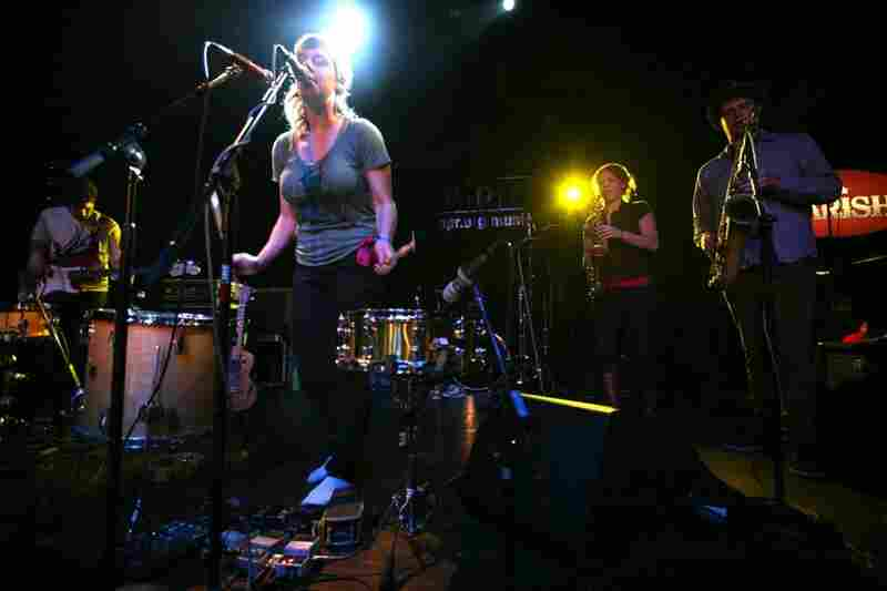 tUnE-yArDs' continent-spanning rhythms were fleshed out by a full band to disarming, often riveting effect at The Parish.