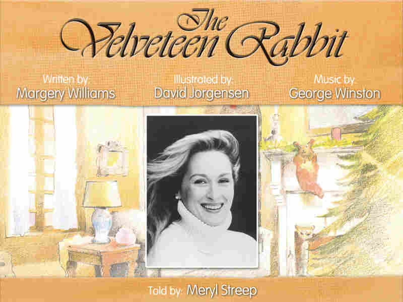 Celebrity narrators are often involved in the creation of apps — in the app version of The Velveteen Rabbit, Meryl Streep reads the narration.