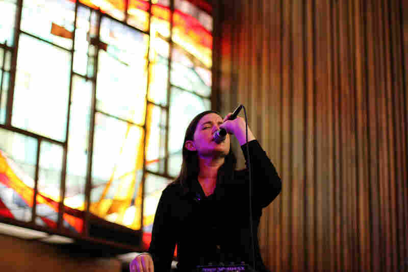 The Central Presbyterian Church was a perfect setting for Julianna Barwick's holy vocals.