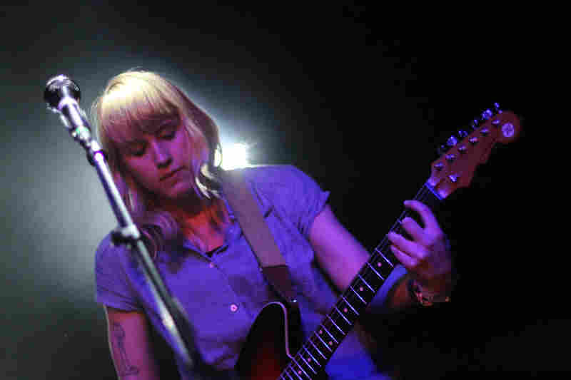 Wye Oak gave a riveting performance, and continues to be one of Stephen Thompson's favorites.