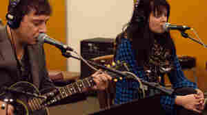 The Kills perform an intimate studio session on KUT during the first day of SXSW.