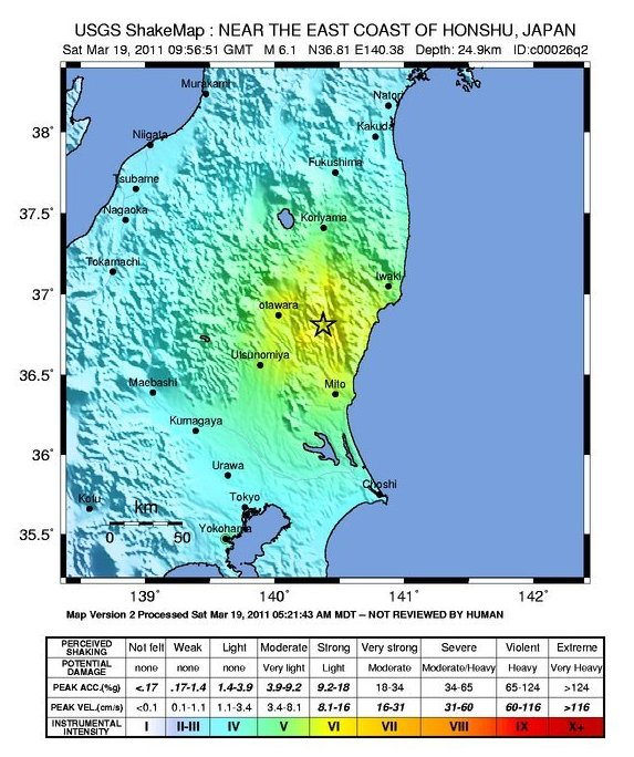 "U.S. Geological Survey ""shakemap"""