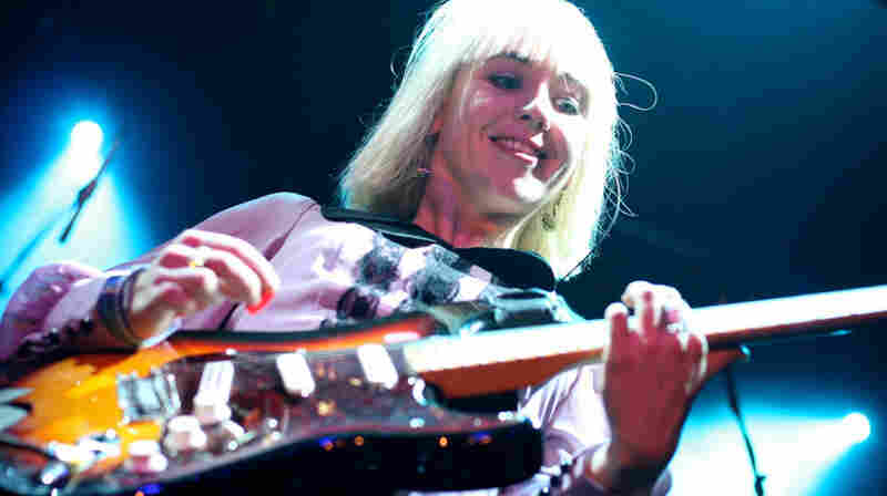 Joy-Formidable performs live at the Parish in Austin, Texas.