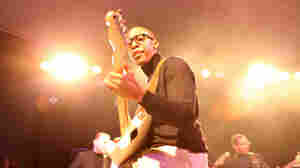 Raphael Saadiq performs live at Stubb's Bar-B-Q at SXSW 2011.